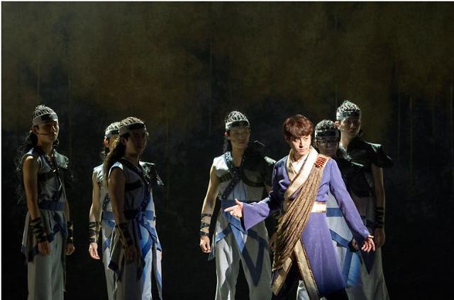 韩国音乐剧《双花别曲》唱响中国