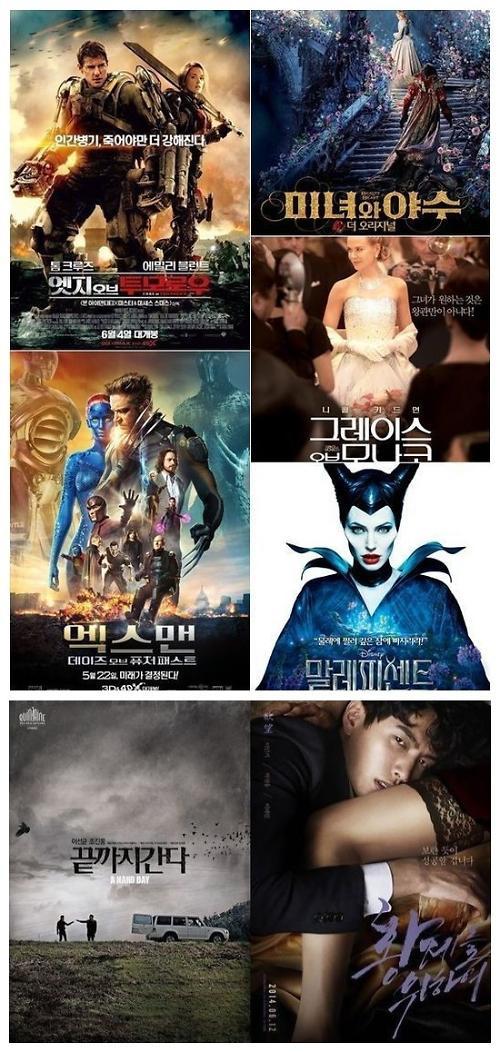 并列第8的是电影《沉睡魔咒》