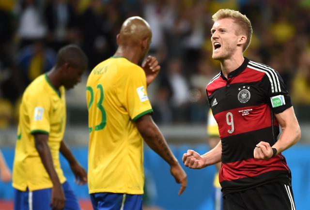 2014巴西世界杯 巴西队对阵德国队 巴西惨败德国进决赛 -巴西队对阵图片