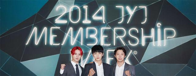 JYJ holds Membership Week