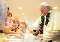 교황,남북에 <B>무한용서</B>로 화해 주문