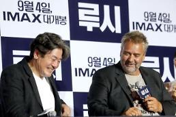 """'루시' 뤽 베송 감독 """"최민식과 다시 영화 찍고 싶다"""""""
