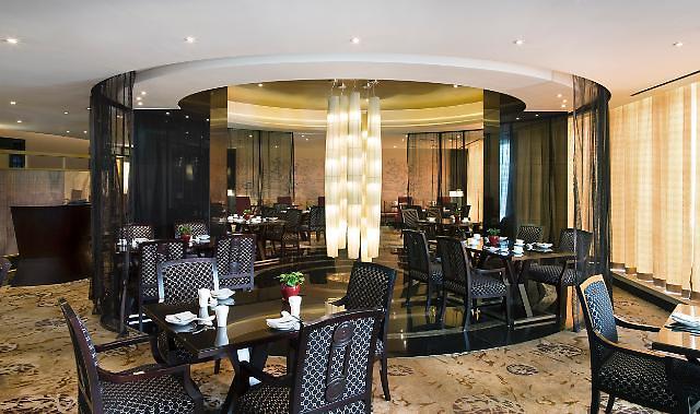 YUE中式餐厅内景[照片=公司提供]-韩国首个禁烟酒店 仁川喜来登酒店