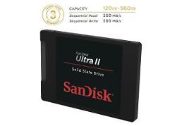 샌디스크, PC성능 강화하는 '울트라 II SSD' 출시