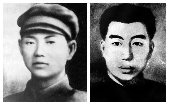 李红光_[韩裔抗日运动家许亨植(左)和李红光 ]