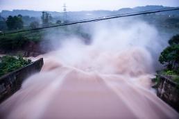 [영상중국] 중국 충칭 폭우로 19명 사망·실종, 태풍 갈매기도 접근