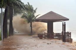 [영상중국] 제15호 태풍 갈매기, 중국 남부 하이난 상륙