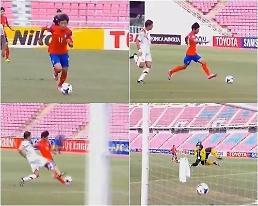 'AFC U-16' 한국, 시리아 7-1 대파…이승우 1골 4도움·장결희 2골