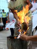 [영상중국] 중국 9.18 만주사변 국치일...일장기 태우는 성난 시위대