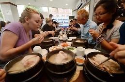 .中国游客酷爱K-Food 参鸡汤等营养美食受瞩目.