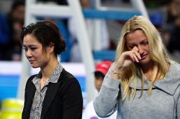 [영상중국] 중국 테니스 스타 리나 진짜 안녕...베이징 눈물의 은퇴식