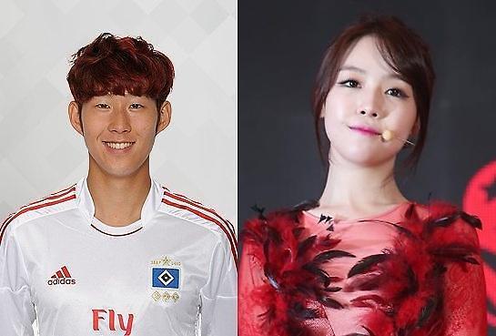 [K-pop] Girl's Day member Minah and soccer player Heung-min Son split up