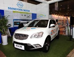 쌍용차, 2014 친환경대전박람회 참가