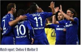 '챔피언스리그' 첼시, 마리보 6-0 대파…에당 아자르 2골 1도움
