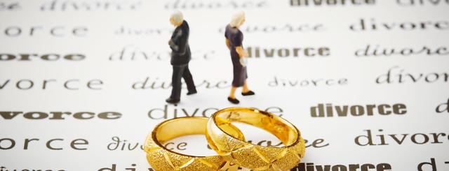 Gray divorces hit record high in 2013