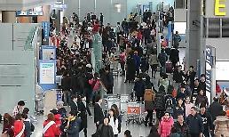 三季度韩国机场旅客逾2000万人次再创新高
