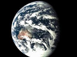[영상중국] 중국 달탐사위성 실험체에서 촬영한 우리별 지구