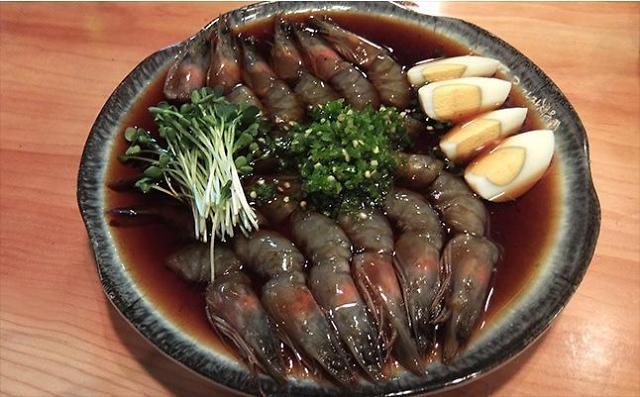 弘大寻觅最美味的酱油虾