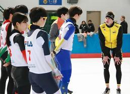 '빙속 황제' 스벤 크라머, 2018 평창 동계올림픽 기대주 일일 코치로 나서