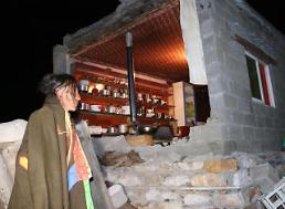 [영상중국] 중국 6.3 규모 강진, 쓰촨성 캉딩현 지진현장