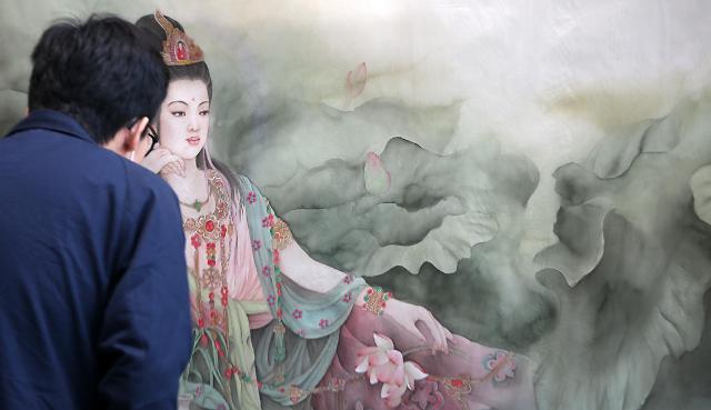 中国水墨名画展亮相韩国 - 画家.诗人 王红莉 - 画家.诗人 王红莉