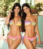 쌍둥이 모델 섹시함도 2배