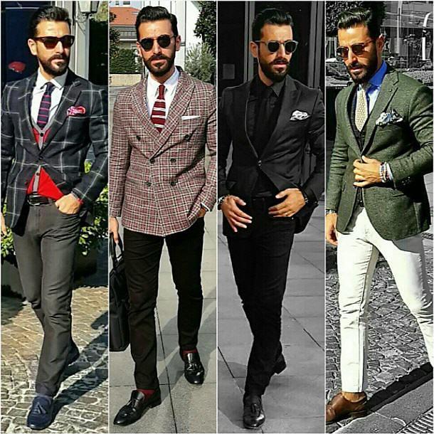 男生搭配休闲西装的三大tip