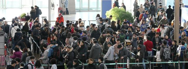S. Koreas airline traffic grows 7% in 2014