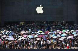 애플 중국 시장 접수<R>↑</R> 삼성 추락<b>↘</b>