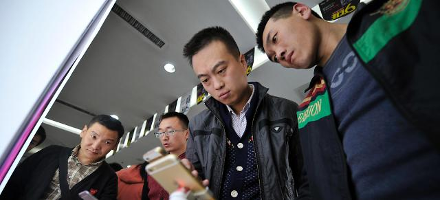 Apple takes top spot in Chinese smartphone market for 1st time