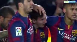 [엘클라시코] '마티유-수아레즈 골' 바르셀로나, 레알마드리드에 2-1 리드…호날두 한 골