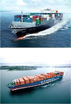 한진해운-현대상선, 아시아~남미 서안 노선 공동 운항 나서