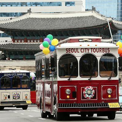 서울 누비는 트롤리 버스