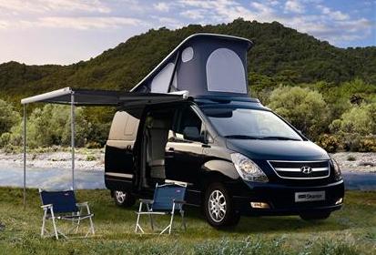 Hyundai starex mini van popular among campers for Hyundai motor finance number