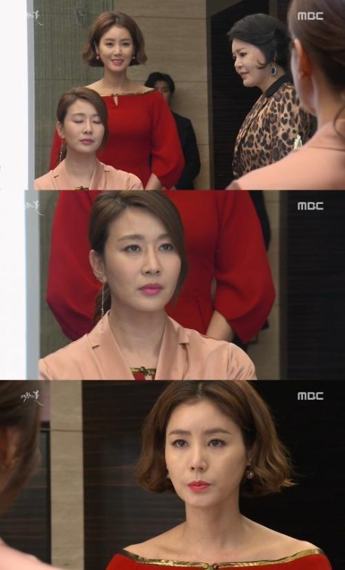 '여왕의 꽃' 양정아, 김성령 옷 찢으며 '새로운 악녀'로 등장