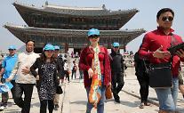五一将至 大批中国游客访韩
