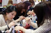 保健美容周在首尔开幕 12个国家化妆品保健产品亮相