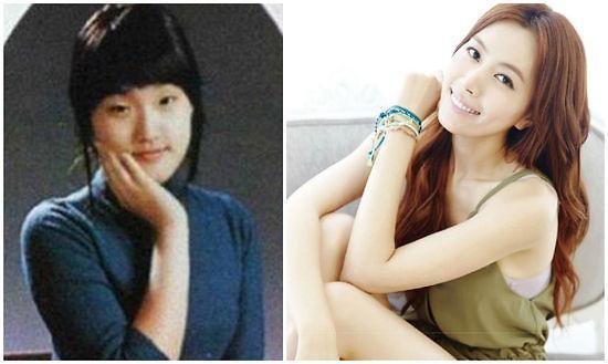 """韩国偶像组合Hello Venus:刘雅拉韩国偶像组合Hello Venus刘雅拉以甜美的微笑和清新的面孔在电视剧《妈妈是什么》中,扮演了可爱的女生,并受到了不少圈内人士关注。她粉色的嘴唇和婴儿般的透明皮肤吸引了人们视线,网友纷纷表示""""刘雅拉就是女神""""。但一张毕业照流传在网络,照片中的刘雅拉与现在的外貌相差很大,引起了整形质疑。那销魂的小眼睛,和现在的刘雅拉完全不一样,做完整形后,不仅五官很美,而且有着独特的气质,这是非常不容易的。"""
