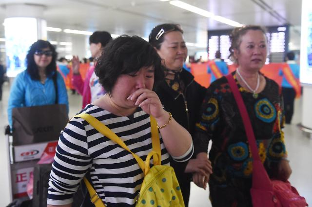 [영상중국] 네팔 대지진, 중국인 관광객들 '무사히 돌아왔어요'