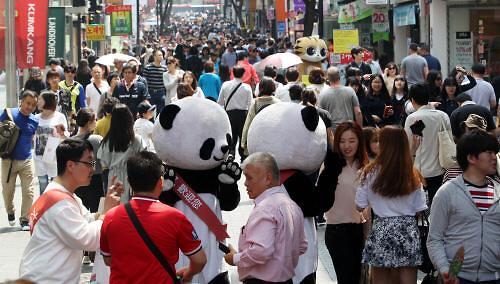 五一小长假中国游客在韩消费为何不及日本?