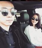 '안현수-우나리 부부' 선글라스 끼고 차 안에서 멋내며 인증샷…차가 1억 6000만원 메르세데스 벤츠?