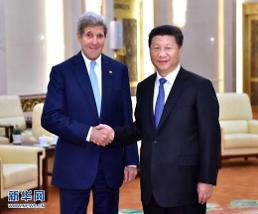시진핑-존 케리 회동, 중미 신형대국관계 성과 논의