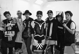 .嘻哈组合Monsta X中国人气旺 新歌居音乐榜前列.