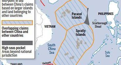 중국, 남중국해에 인공섬, 활주로 이어 다목적 등대 건설