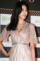 Actress Kim Sa-rang attends red carpet event for Baeksang Arts Awards