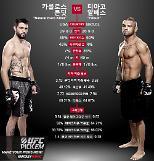 'UFC 중계' 카를로스 콘딧 vs 티아고 알베스…'웰터급 메인매치'