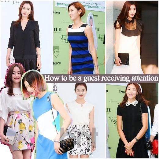 韩国女星得体又不失个性的宾客妆扮风格打造指南