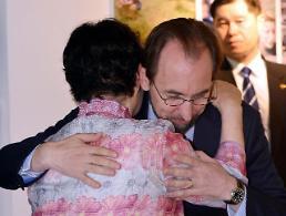 .联合国人权高专会见韩国慰安妇受害人.