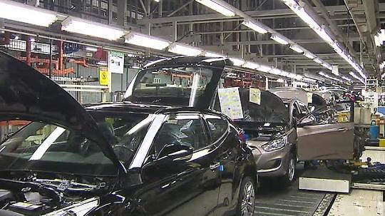韩国汽车业上半年出口下滑3%