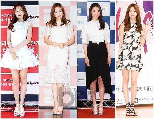 学韩国女星女人味十足的夏季妆扮
